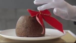 303Lowe's Christmas pudding brings musical holiday cheer