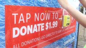 Surf Life Saving Australia launches billboard donations