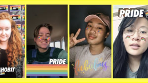 Australian queer youth create Snapchat lenses for IDAHOBIT day