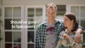Specsavers hides eyesight test in latest ad