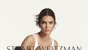 Kendall Jenner fronts Stuart Weitzman's Fall 2019 campaign