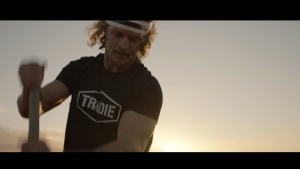 Tradie puts workwear range to the test with the Honey Badger
