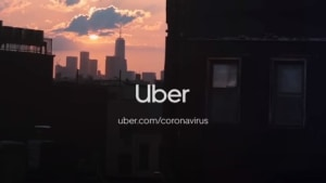Uber urges people to #StayHome
