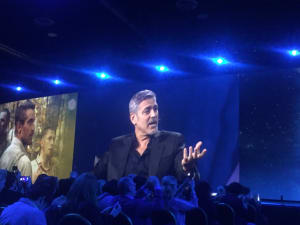 Adobe CMO quizzes Clooney on Twitter, TV and storytelling