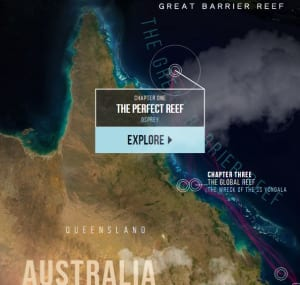 Australia Interactive Map.Interactive Reef Map Launches Ahead Of Tourism Australia Documentary