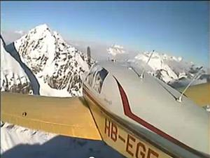 FRIDAY FLYING VIDEO: V-tail Bonanza in the Swiss Alps - Australian