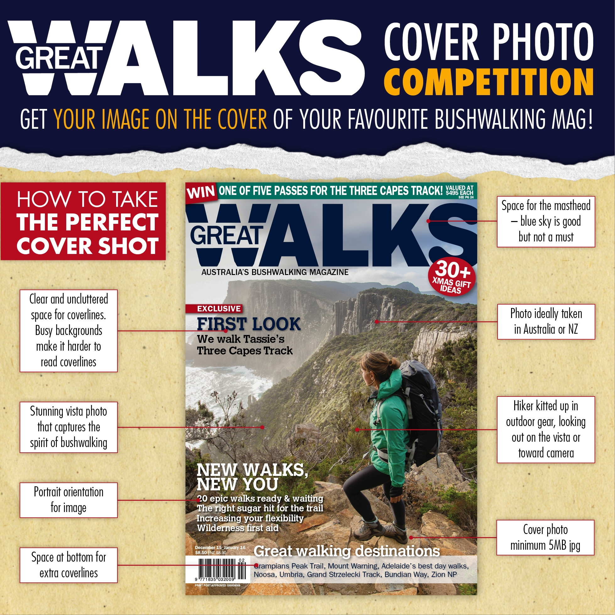 A Great Walks cover