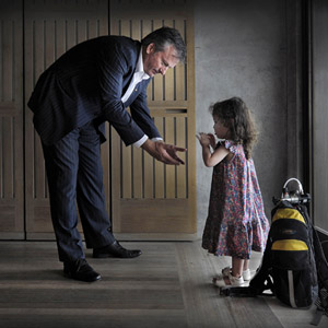 World Rare Disease Day – Steve Waugh and Sarah Walker. Photo by Jack Atley.