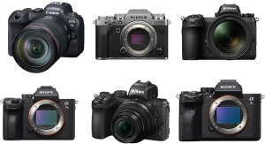 2020's Most Powerful Mirrorless Cameras