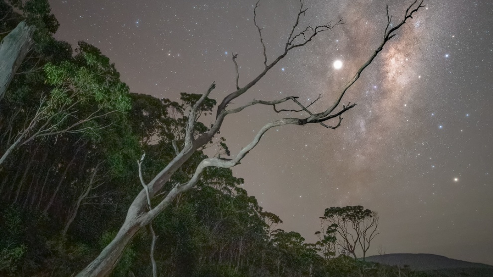 Bruny Island Photography Reserve. Milky Way nightscape. by Jay Evans.