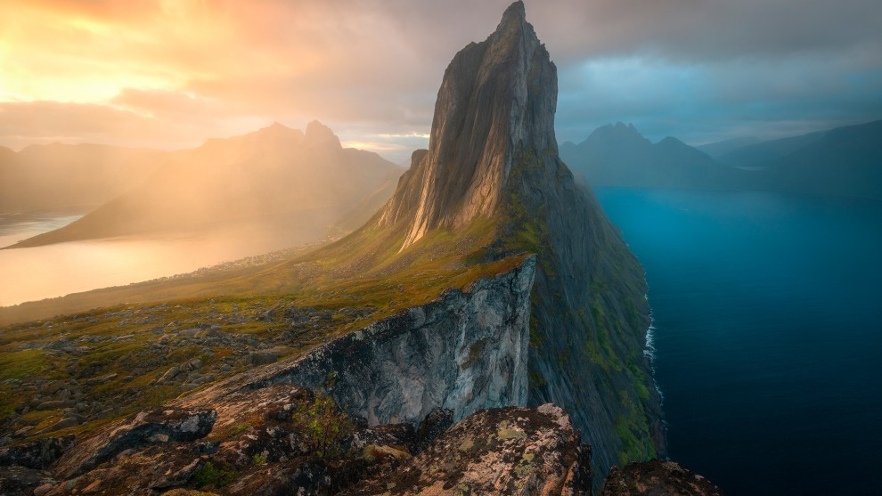 Duality by Armand Sarlangue, Landscapes, Waterscapes, and Flora Winner. Senja Island, Norway.