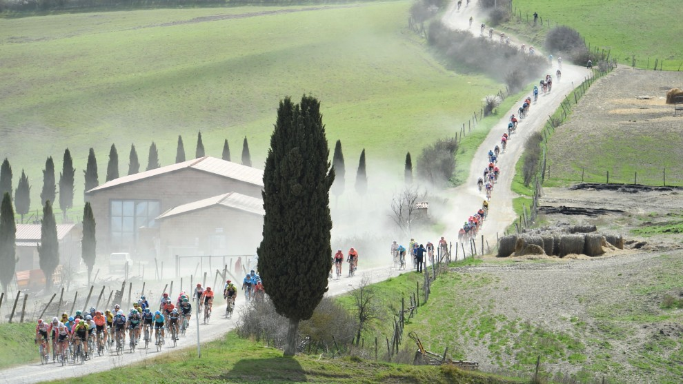 Under the dark cloud of Coronavirus concerns, some of the early-season Italian races such as Milan San Remo and Strade Bianche are in doubt.
