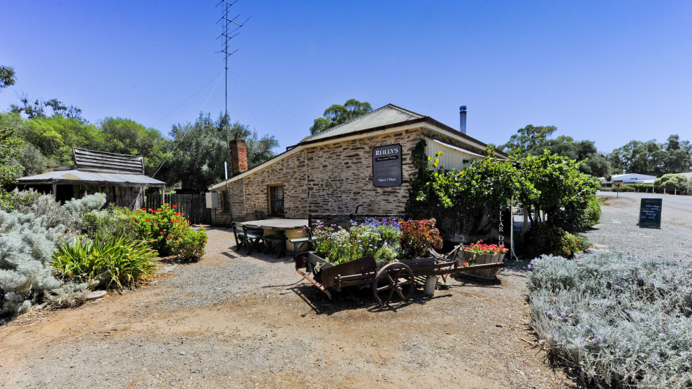 Reillys Wines in the Clare Valley village of Mintaro, a must-visit destination in itself.