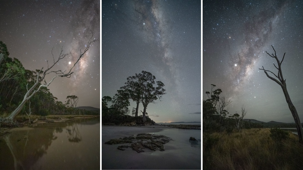 'Bruny Island Photography': Milkyway nightscapes © Jay Evans