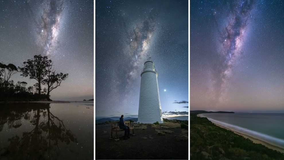 'Bruny Island Photography': Milkyway nightscapes © Luke Tscharke