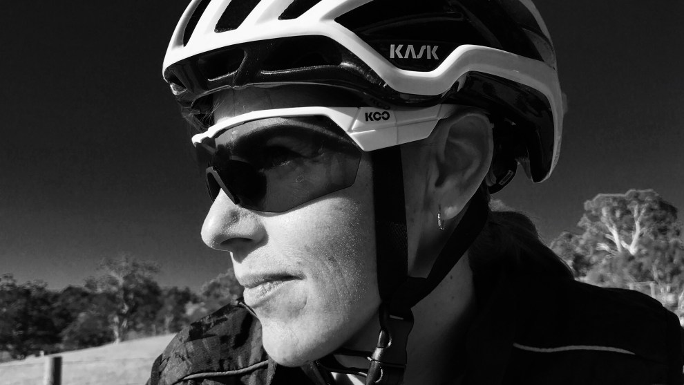 "Keri Frecklington (pictured above) says bike riding is a social sport perfect for all fitness levels whether it be just social rides or specific goals. Plus, ""We look better in Lycra than men,"" she added."