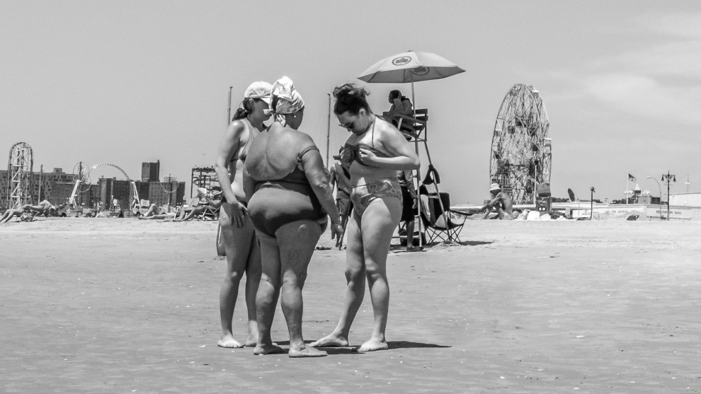 Yunis Tmeizeh, 2017 People and Portrait Photographer of the Year: 'Coney Island 17'