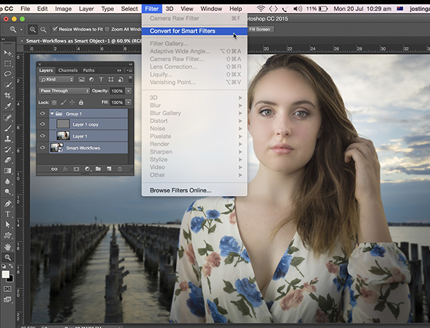 How To: Retouching in Lightroom and Photoshop - Australian