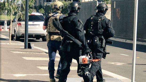 Six men arrested over last week's Melbourne gun shop heist