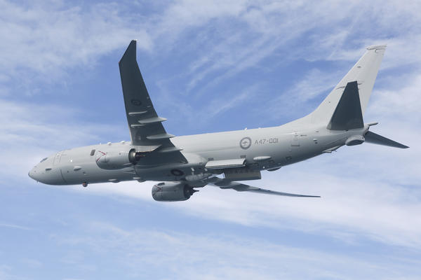 Boeing delivered the first P-8A Poseidon to the RAAF in November 2016. Credit: Defence