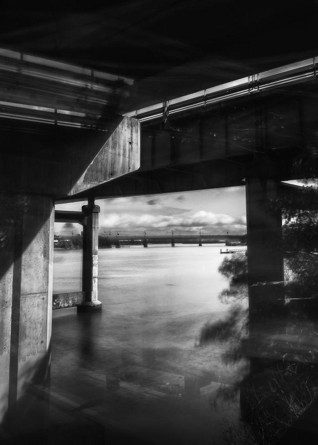 Under ryde bridge by alfonso calero