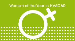 Women in HVACR button