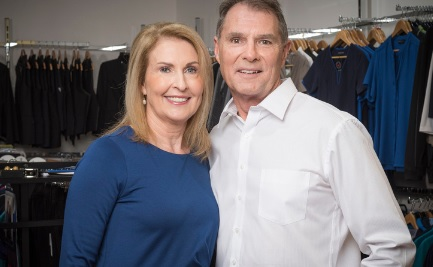 Passion for clothing: Denise and Arn Betteridge