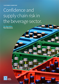 Widespread food fraud and significant supply chain disruption are driving greater risks for global beverage brands, a report by Lloyd's Register says.