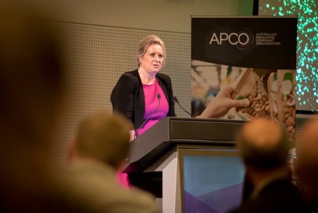 Celebrating progress: Brooke Donnelly, APCO CEO.