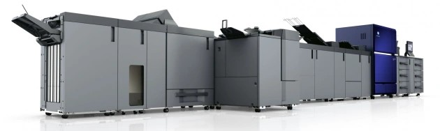 Siezed the opportunity: New Konioca Minolta AccurioPress C14000 in at Imagination Graphics