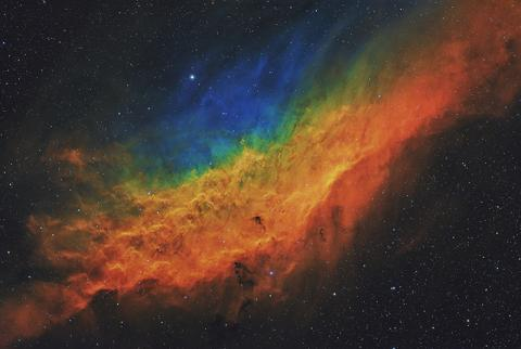 © 'California Dreamin' by Terry Hancock - Star and Nebulae Award Winner - Astronomical Photographer of the Year 2021