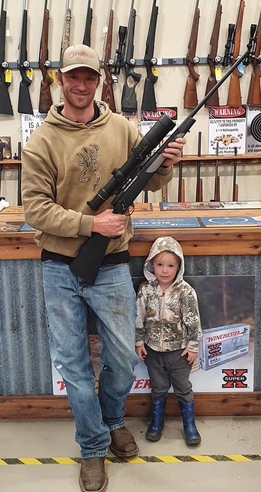 Duane and his son share in the moment, couretsy of TSA Outdoors.