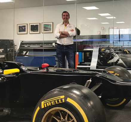 Joe McNamara, Renault F1 team.