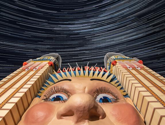 © 'Luna Park' by Ed Hurst - Selected in the People & Space category - Astronomical photographer of the year 2021