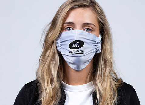Making masks: AFI Branding