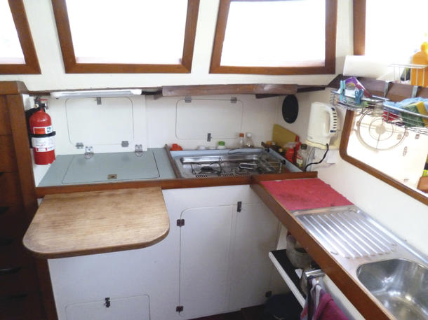 What is hot in the galley? Stoves of course - MySailing com au