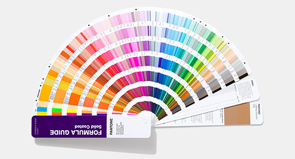 Pantone has added 294 new colours to its library.