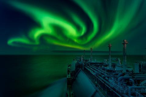 © 'Polar Lights Dance' by Dmitrii Rybalka - Winner of the Aurorae category - Astronomy photographer of the year 2021