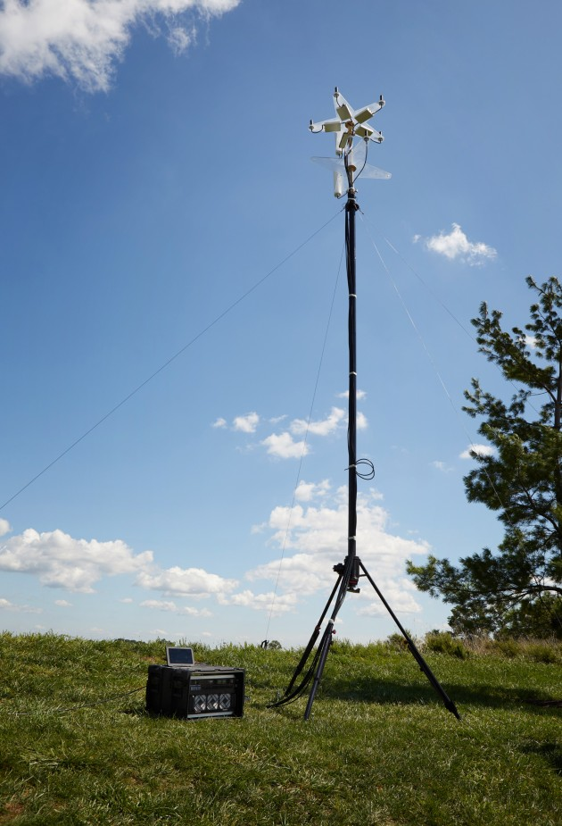 The Mesmer Version 1.5 RF unit with antenna. Credit: D13 James Ferry