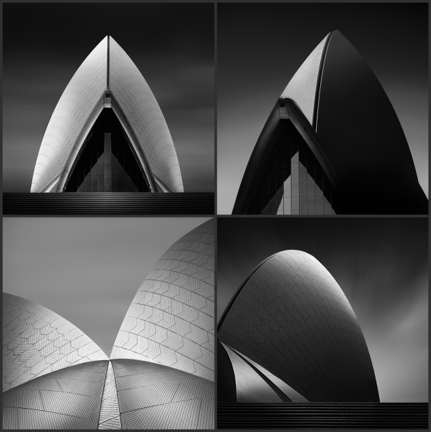 Allen Koppe, Black and White category winner, 2019. A seemingly simple study of Sydney's opera House, Allen's entry also showcased his skill in bringing something new to a scene we've seen thousands of times before.