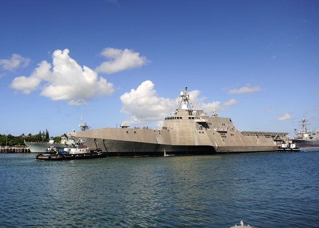 The report singled out Austal's Independence-class ships for being unable to reach 40-50 knots. 