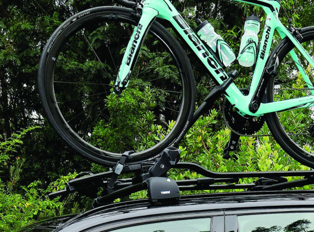 dc602221ba3 With a precious bike on top of your vehicle it s wise to consider a rack  with an incorporated locking system.