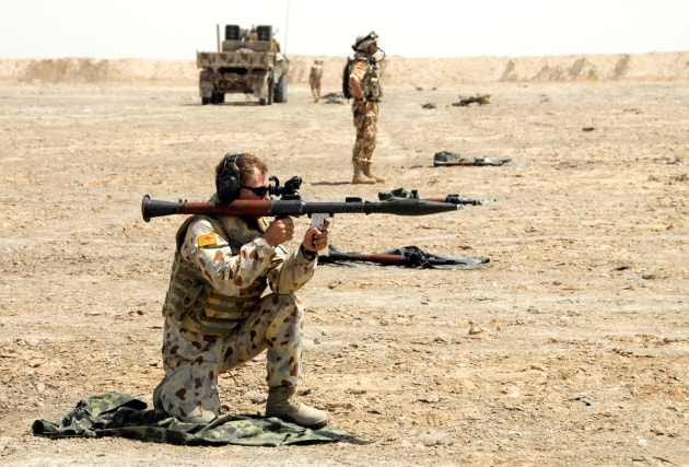 The contract will allow DefendTex to develop RPGs for the ADF. Credit: Defence