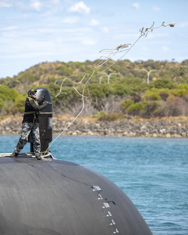 Eight everyday Australians will get to experience life at sea in a Collins class submarine with an eye to a career in the Silent Service.