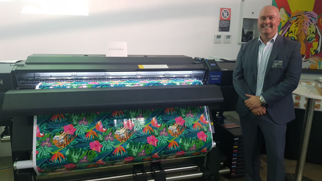 Precision Core pushing performance: Craig Heckenberg, managing diretcor Epson Australia, with the new SureColor P9560