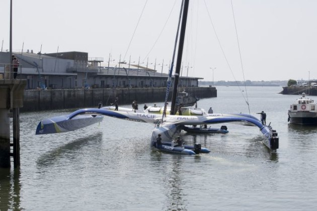 MACIF Trimaran back at sea, better performance and more