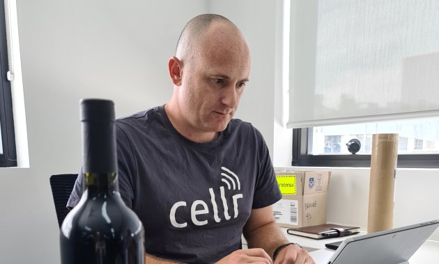 Chris Braine, director and co-founder of Cellr.
