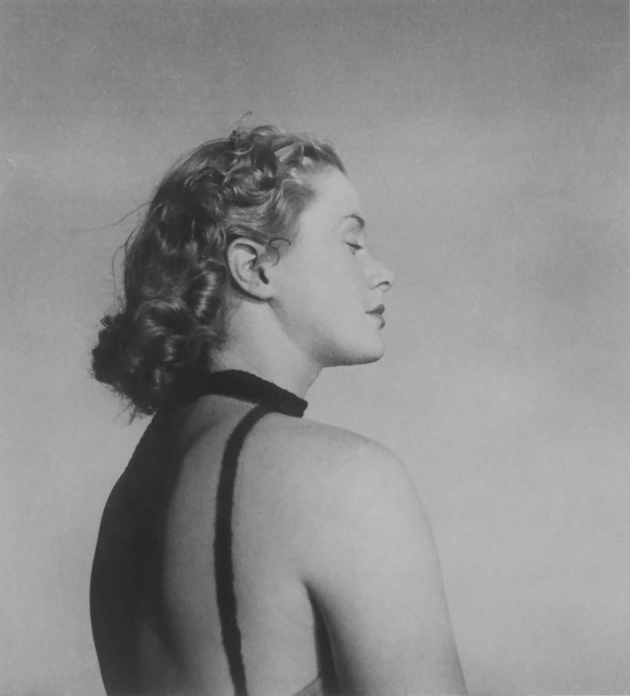 Olive COTTON (1911–2003), Only to Taste the Warmth, the Light, the Wind (c.1939), silver gelatin photograph, gift of the Russell Mills Foundation, 2015, MAMA collection.