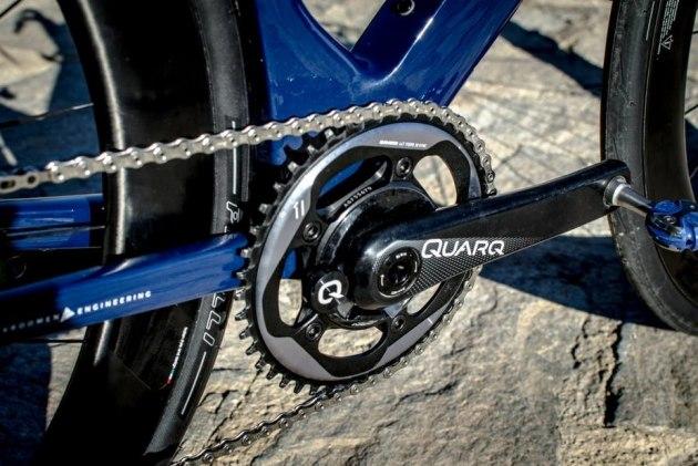 58905fe5d43 Aqua Blue Sport riders are using using Quarq D-Zero power meters to capture  ride