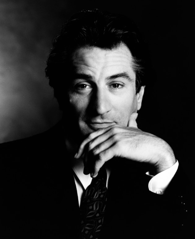 © Greg Gorman. Robert De Niro, New York, 1990.